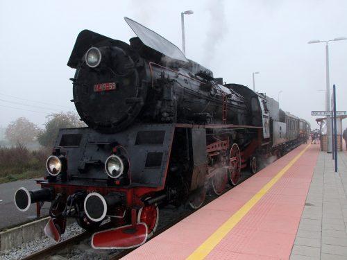 1. Pociąg retro