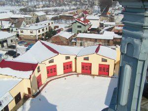 kompleks budynków muzeum - widok z góry
