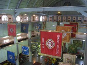 wnętrze muzeum - widok ogólny