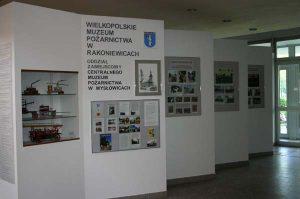 Ekspozycja poświęcona Wielkopolskiemu Muzeum Pożarnictwa w Rakoniewicach